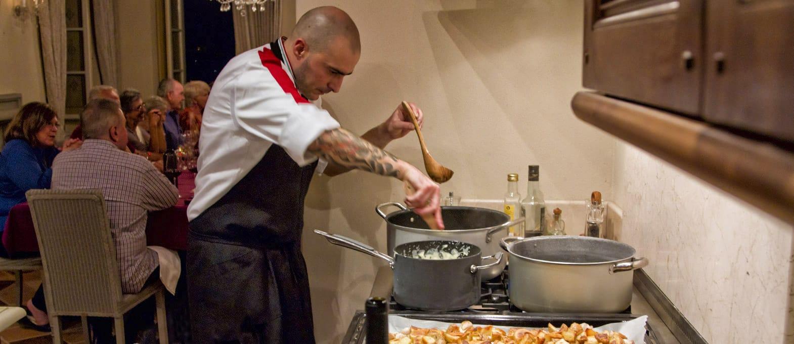 chef a domicilio e corsi di cucina a cortona, arezzo, toscana - Cucinare A Domicilio